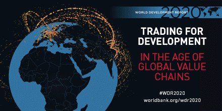 """Join me today at 2 pm for a broadcast of the """"End of an Era? Global Value Chains, Trade and Development."""" Mexico's @ArturoHerrera_G Finland's @VilleSkinnari and I will discuss implications for poor countries. #WDR2020 #WBGMeetings http://wrld.bg/zPA450wIP2s"""