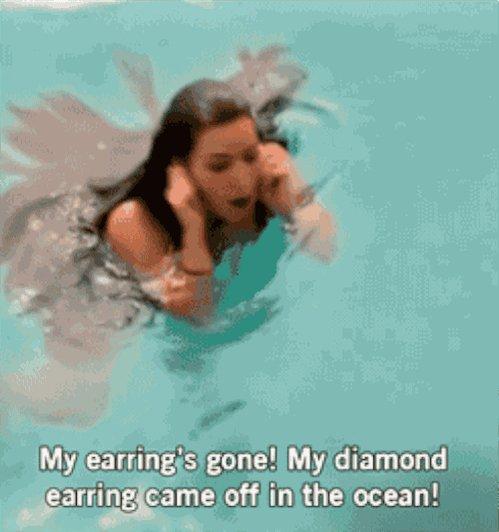 I have #WalkedDownMemoryLaneAndFound a missing earring