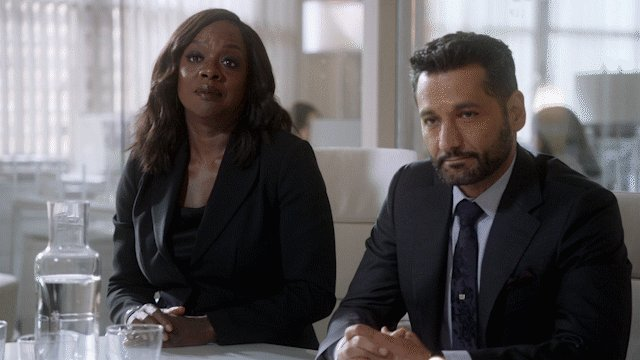"""Do I know you from somewhere?""@Casanvar and @FrancoisChau with Viola Davis in How To Get Away With Murder#TheExpanse meets #HTGAWM"
