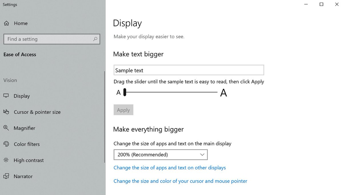 Make text biiigggGGGEEERRR. Here's how: http://msft.social/jmCTtQ