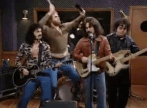 What is your position on *cowbell*? #UnlikelyDebateQuestions