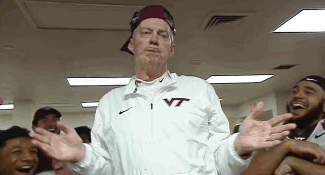 Happy birthday to one of the most entertaining coaches of all time, Frank Beamer. An absolute legend