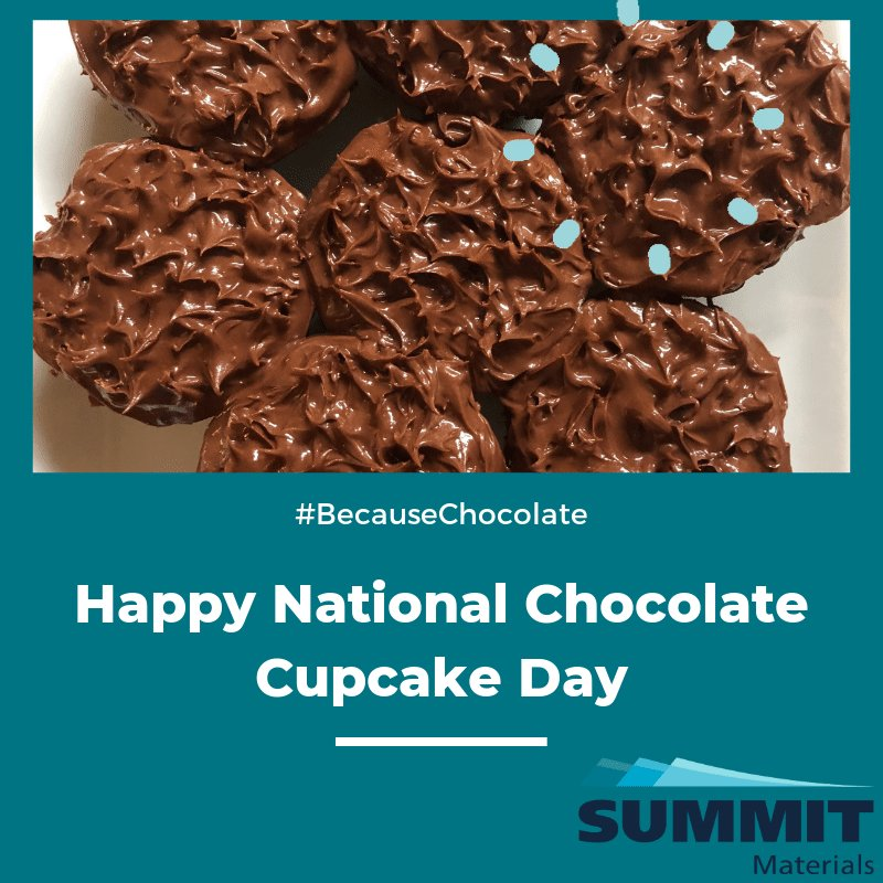 Happy National Chocolate Cupcake Day! How are you celebrating? #NationalChocolateCupcakeDay
