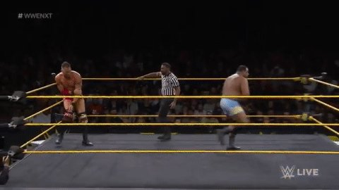 Feast your eyes on @DijakovicWWE vs. @RealKeithLee as #WWENXT continues streaming NOW on @WWENetwork! http://wwe.me/xuJYYI