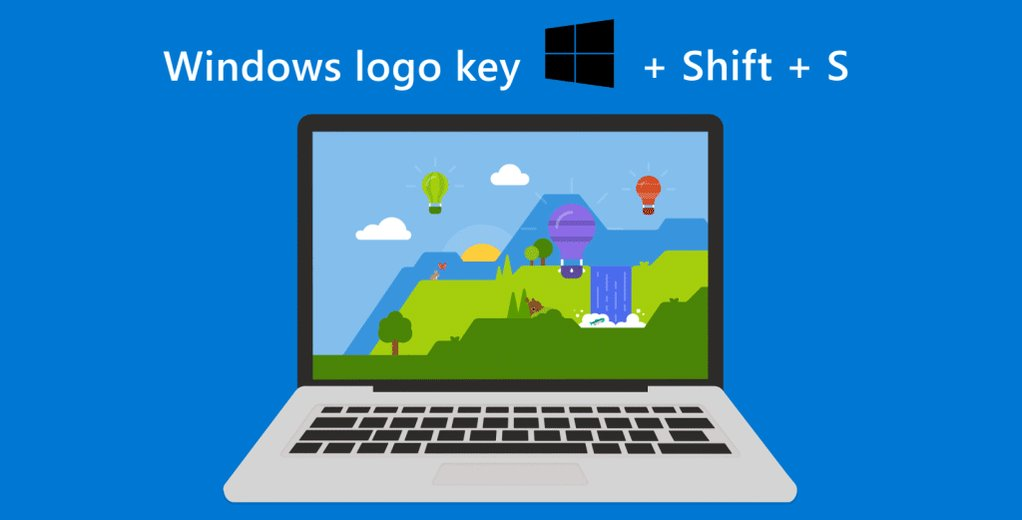 Need a screenshot? Getting one is simple: Just press the Windows logo key + Shift + S, drag, done.http://msft.social/PdYFZT