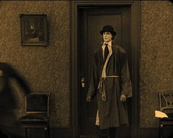 Buster Keaton in The Haunted House (1921)