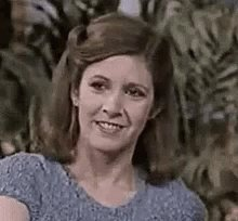 Carrie Fisher, I salute you on this here day. Happy Birthday, Princess General.