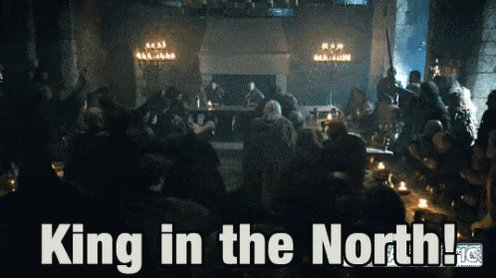The new King in the North