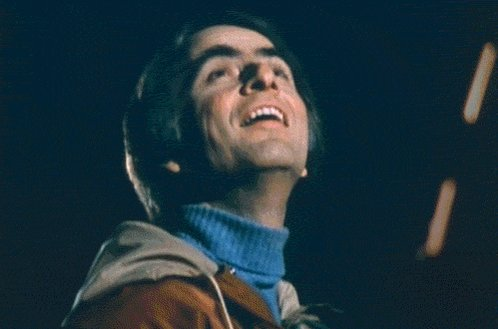 Happy birthday Carl Sagan! I usually have a Carl Sagan birthday party but couldn t make it work this year.