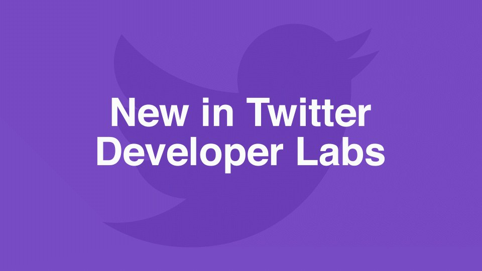 Study a sample of timely, relevant Tweets as they happen, with the newest release in Twitter Developer Labs. https://t.co/mWlKxT3Oov https://t.co/WSaOte8bZh