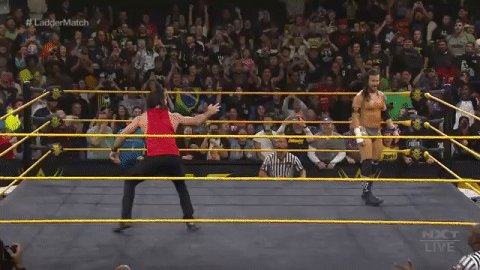 🔥🔥🔥🔥@WWERollins is here!!!! 🔥🔥🔥🔥#WWENXT @AdamColePro