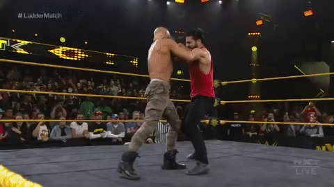 WHAT'S ALL THIS?!?!This weekend is going to be fuuuun...#WWENXT @WWERollins @NXTCiampa