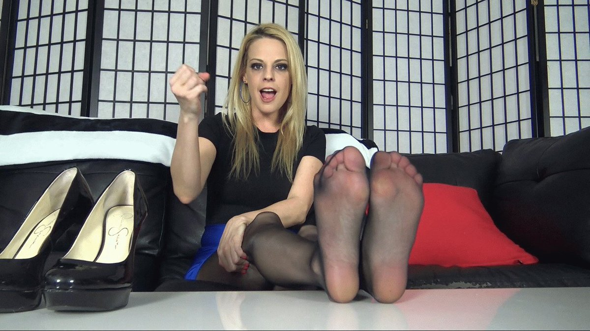 Solo Joi Pantyhose Fetish Cum With Me