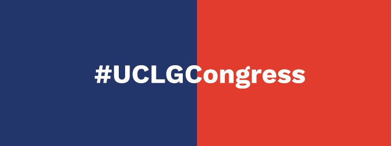 Image for the Tweet beginning: 👇#UCLGCongress gives an opportunity to