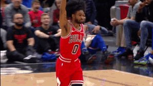 HISTORIC NIGHT FOR @COBYWHITE!   ▪️ 23 PTS, 7 threes in 4Q alone ▪️ @chicagobulls record for most 3s in a quarter ▪️ Youngest player ever to hit 7 threes in a quarter