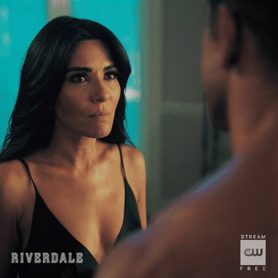 50 shades of Lodge #riverdale all new episode tonight @MarkConsuelos