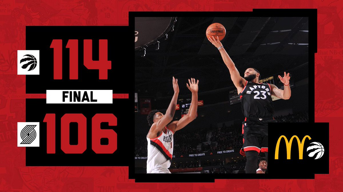 Just doin' what we do. #WeTheNorth