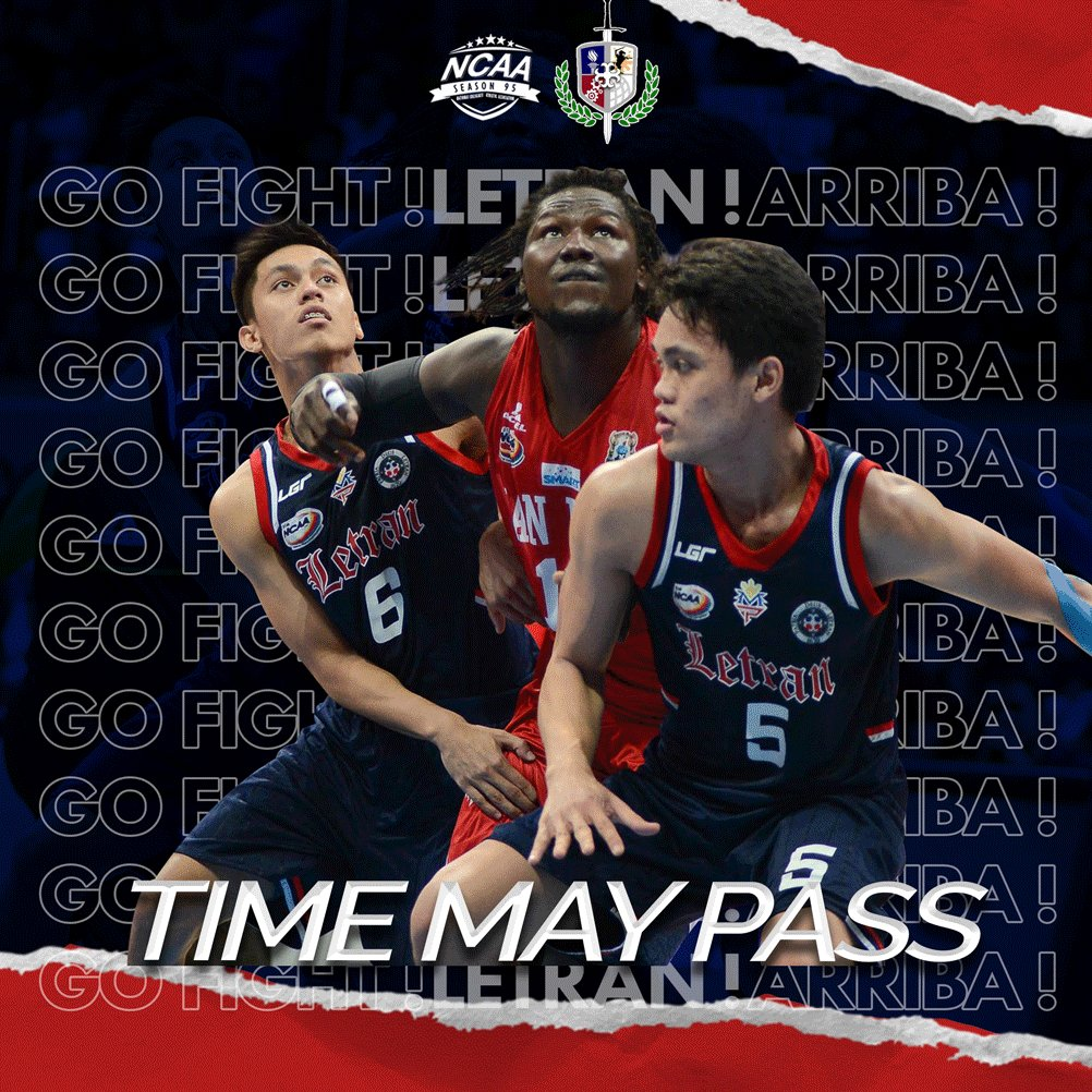 Today's a big day as the Letran Knights battle it out with the San Beda Red Lions in the NCAA Season 95 Finals Game 2.  Let's show our all-out support to the Letran Knights and fill the MOA Arena with a wave of white laterat 4pm!  #NCAASeason95 #ARR18ALETRAN #DaanSaApatNaRaan