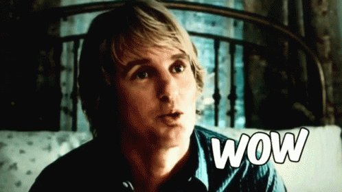 Oh Wow! Happy Birthday Owen Wilson! What s your favourite film from the Wedding Crasher and Wes Anderson regular?