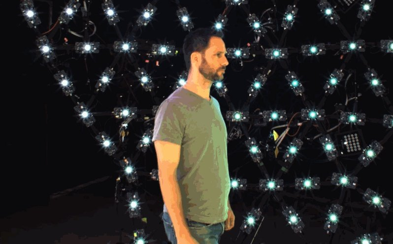 Google AIのチームが開発した卵型LEDルームが人間の3Dモデルを見事に捉える