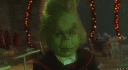Replying to @MikeVale2: #ReasonsTheGrinchIsAwesome his last name is Grinchingly