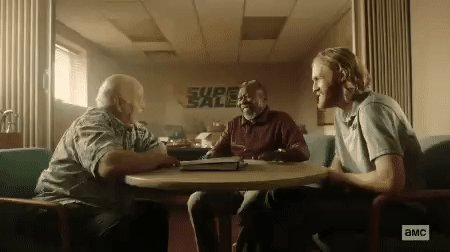 How we'll feel WHEN #Lodge49 is picked up by another outlet. #JoinLodge49, for Pete's sake!