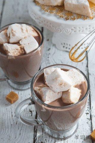 #BetterAdventCalendarTreats caramel covered marshmallows
