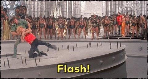 Flash Gordon (1980, USA). Happy birthday to Melody Anderson, aka Dale Arden.