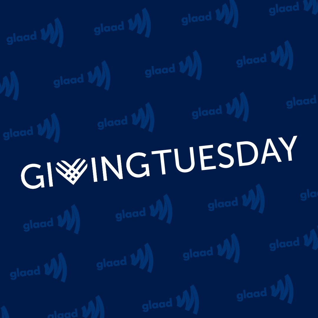 It's #GivingTuesday! The money we raise today will help determine what programs we're able to run in 2020 and beyond. Will you help expand our programming and join in the fight for 100% LGBTQ acceptance? https://glaad.nationbuilder.com/giving_tuesday_email …