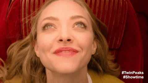 Say Happy Birthday to Amanda Seyfried, who plays Becky Briggs in \Twin Peaks: The Return\