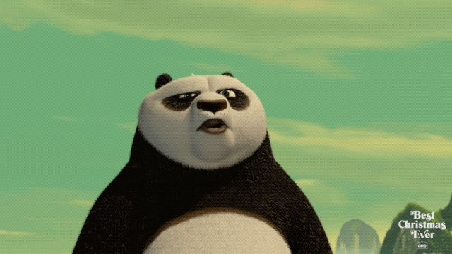 Kung Fu Panda: Any day is Christmas when you're doing what you love. #BestChristmasEver