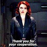 No magic powers, no armour, just skill. Ergo, is the fkn bomb.   Happy Birthday, Scarlett Johansson.