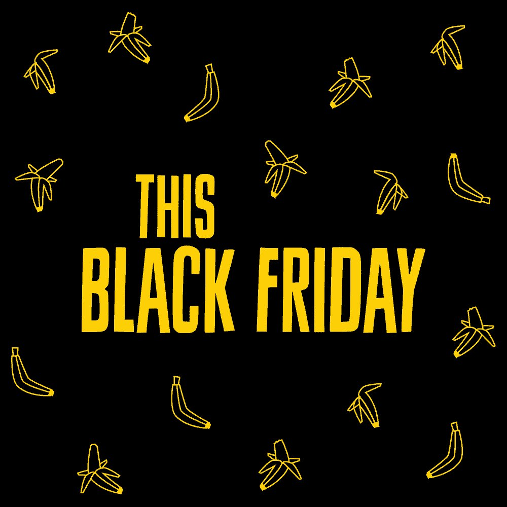 Get ready for our best ever deal. You'd be bananas to miss it! 🍌🍌🍌 Check out our website on Black Friday the 29th of November for an amazing deal - only available for one day ⏳  #blackfriday #goape #livelifeadventurously #Feel50ftTall