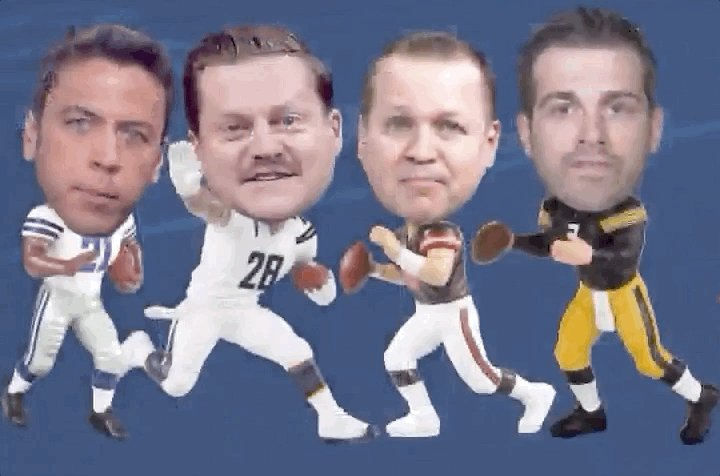If you could have a bobble head from one of our guys, who would you roll with 🤔  @EdWithSports  @mrogondino  @icecoldexacta  @ThePoniExpress