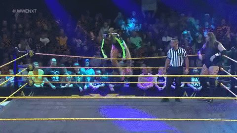 BROOOOOO...  @SuperKingofBros has answered @KassiusOhno's challenge on #WWENXT!