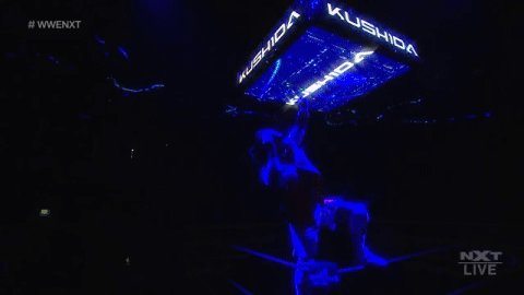 It's TIME.  @KUSHIDA_0904 is BACK on #WWENXT!
