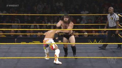 The QUICKNESS of @KUSHIDA_0904!  #WWENXT