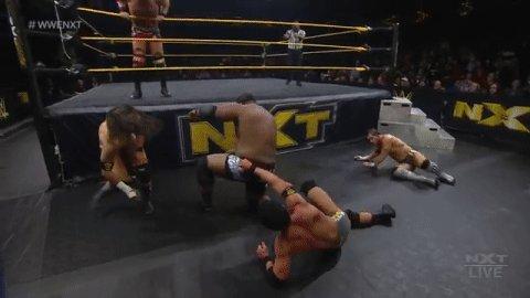 MAMMA MIA!!!!  @DijakovicWWE #WWENXT