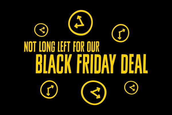 Our best ever deal launches 👉tomorrow. Don't miss out!  Check out  for our Black Friday deal tomorrow and take advantage of an amazing offer for one day only ⏳  #blackfriday #goape #livelifeadventurously #Feel50ftTall