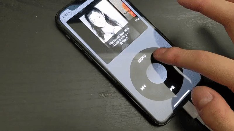 This iPhone app will make you nostalgic for the iPod click wheel
