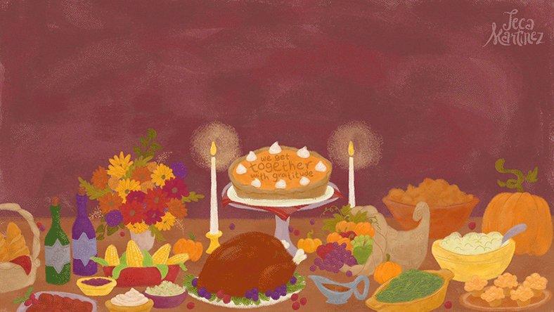 День благодарения картинки анимация