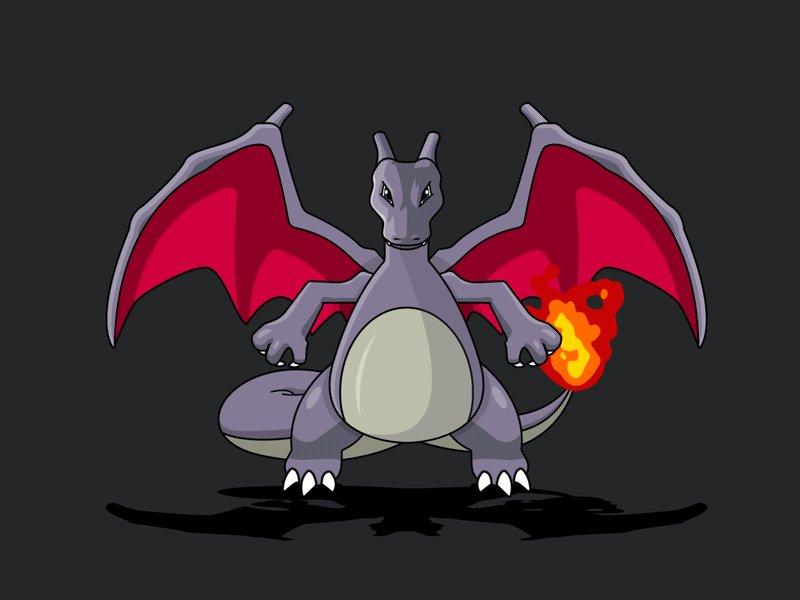 pokemon shiny charizard - 800×600