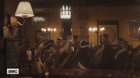 #JoinLodge49 to see Wyndom Earle up to his old tricks in another Lodge not black or white #TwinPeaks #BlackLodge #WyndomEarle #DaleCooper #Lodge49 #SaveLodge49  @albert_cheng #albertcheng @jsalke #jennifersalke @mpaull #michaelpaull @craigerwich #craigerwich