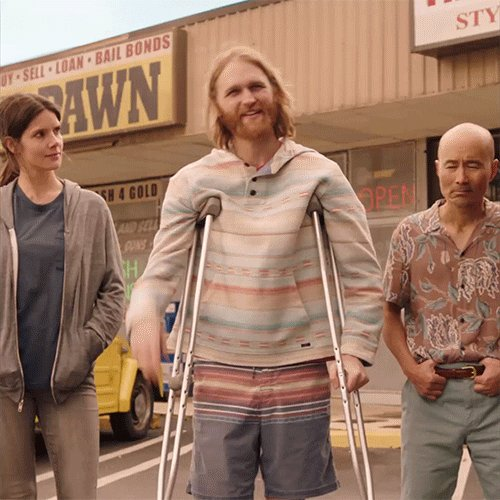 "#JoinLodge49 because it's a one of a kind show equally human as it is magical. @Lodge49 presents a possible ""other way to live"", but says even if there isn't, it's going to be a sweeter ride if we all aim for that in our care and consideration for one another. #SaveLodge49"