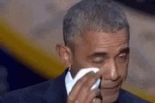 Image for the Tweet beginning: Don't make Obama sad! GET