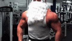Santa Guns 💪 #LesserKnownSantas