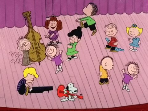 Dance break! #CharlieBrownChristmas