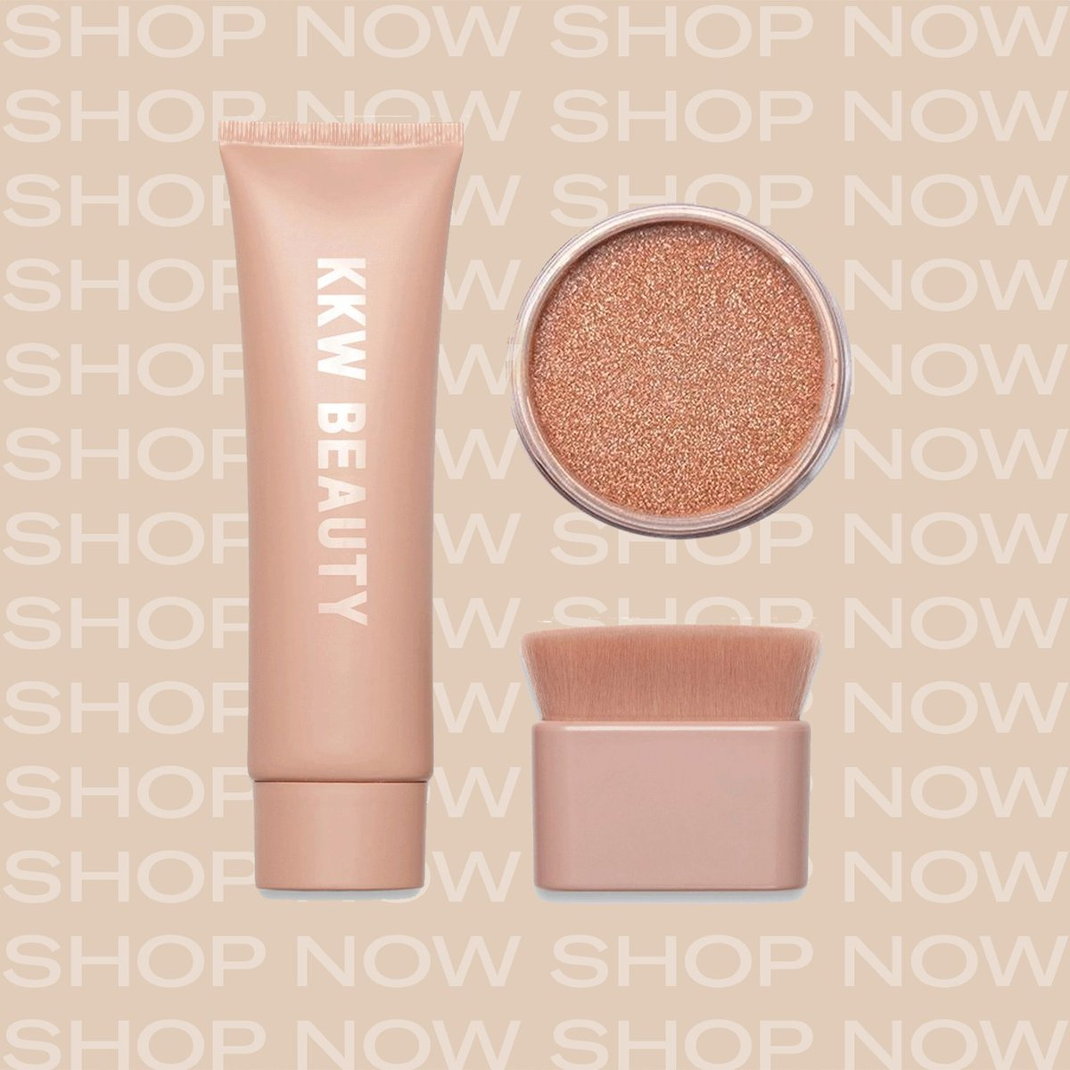 Shop @kkwbeauty  Limited Edition Rose Gold Liquid & Powder Shimmer now only at  http://KKWBEAUTY.COM   ✨