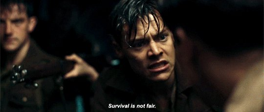 Survival is not fair./ Dunkirk, Alex