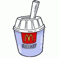 Saw this happen to a lady today. 😂Have you ever accidentally tried to drink from the top of a #McFlurry Straw? I damn near cut a hole in my mouth.